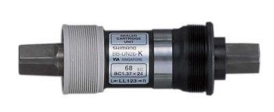 Boîtier de pédalier Shimano BB-UN26 Carré BSA 68 x 110 mm