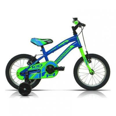 Vélo Enfant Megamo Kid Boy 14'' Bleu 2020