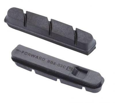 Patins de remplacement BBB RoadStop type Campagnolo (noir) - BBS-03C