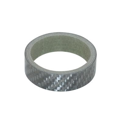 "Entretoise de direction carbone 1.1/8"" 28,6 mm H. 10 mm Argent"