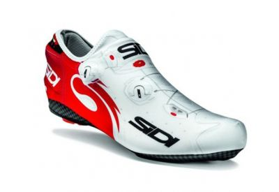 Couvre-chaussures Sidi WIRE LYCRA Blanc/Rouge