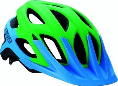 Helmet BBB Varallo bleu mat & vert - BHE-67