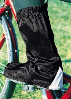 Couvre-chaussures Hock Gamas hautes Noir/Réfléchissant