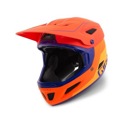 Casque Giro DISCIPLE MIPS Rouge mat/Orange/Violet
