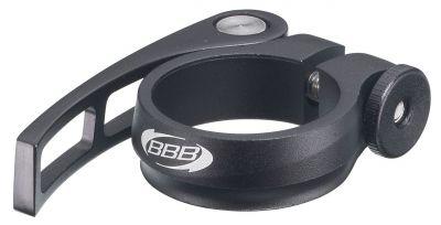 Collier de serrage rapide BBB QR Fix 28.6 mm Noir - BSP-84