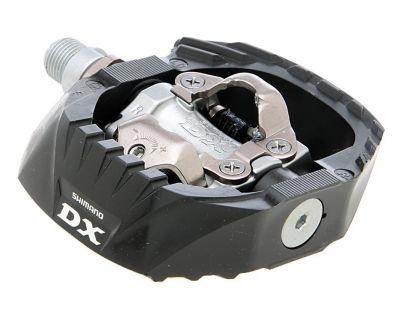 Pédales automatiques Shimano DX SPD PD-M647 Noir/Argent