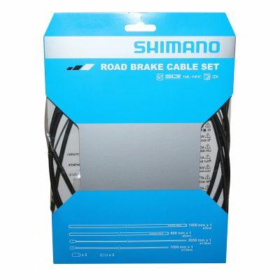 Kit câbles et gaine de frein Shimano Route Teflon SUS Noir