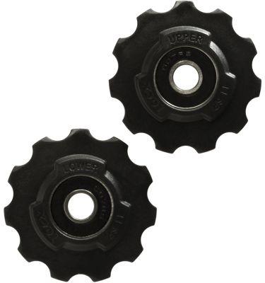 Galets de dérailleur Tacx 11 dents Roulements standard SRAM Noir