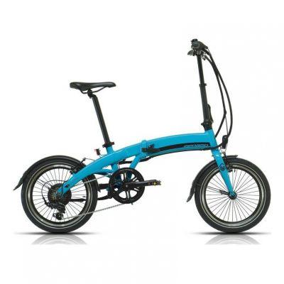 Vélo électrique Pliant Megamo Executive 18'' Bleu 2020