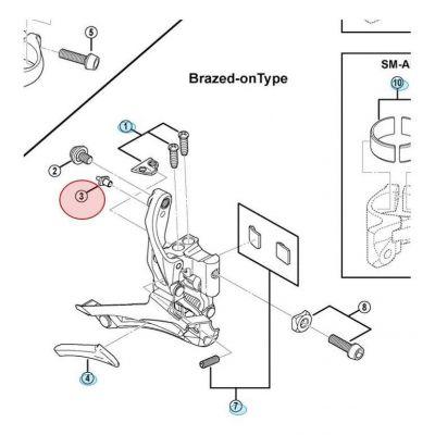 Guide Câble Shimano FD-6800