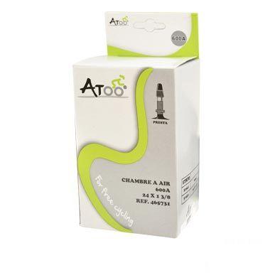 Chambre à air ATOO 24 x 1.3/8 600A Presta 40 mm