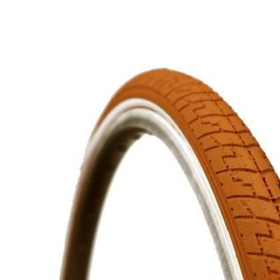 Pneu Dutch Perfect SRI 27 No Puncture 700 x 38C TR Marron/Réfléchissant