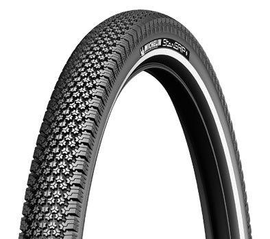 Pneu Michelin StarGrip 700 x 35C TR Noir/Réfléchissant