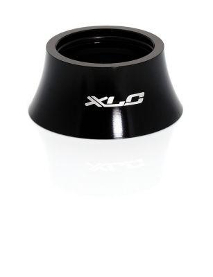 """Entretoise conique A-Head XLC AS-A01 1.1/8""""Hauteur 18 mm Alu Noir"""