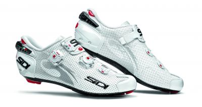 Chaussures Sidi WIRE Carbon AIR Vernice Blanc verni