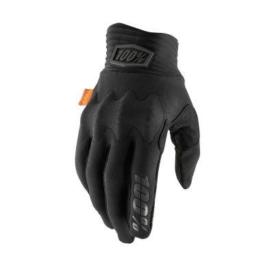 Gants 100% Cognito D3O Black/Charcoal