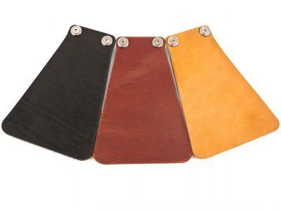 Bavette de garde-boue Velo Orange VO Cuir Noir