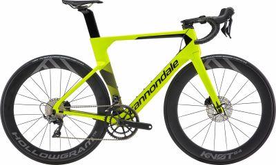 Vélo Cannondale SystemSix Carbon Dura-Ace Jaune Volt/Noir