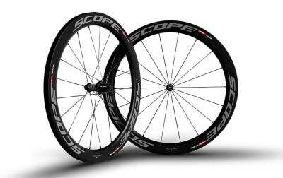 Roues Scope R5C 55 mm Shimano 11V Gris (Paire)