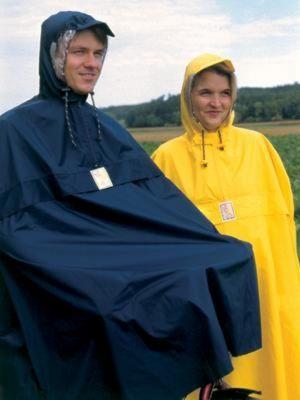Poncho imperméable Hock Rain Stop Jaune