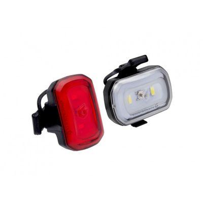 Éclairages avant et arrière Blackburn Click USB 60/20 lumens Noir