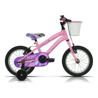 Vélo Enfant Megamo Kid Girl 14'' Rose 2020