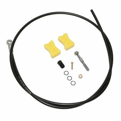 Durite hydraulique Shimano Pour frein à disque 1000 mm Embout Court Noir