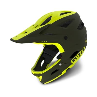 Casque Giro Switchblade MIPS Olive Mat/Citron