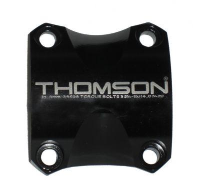 Capot de potence Thomson Elite X4 31.8 mm Noir