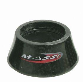 """Entretoise de direction Massi Aero Carbon 1.1/8"""" 20 mm"""