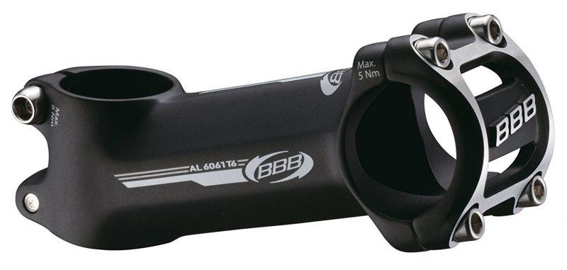 Potence BBB MountainDrive 17D 80 mm 31.8 mm (noir) 6061-T6 3D Alu - BHS-43