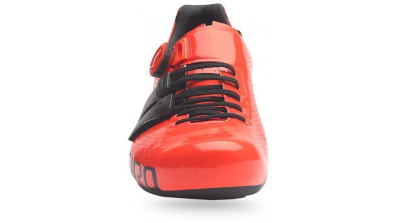 Chaussures route Giro Factor Techlace Rouge/Noir - 3