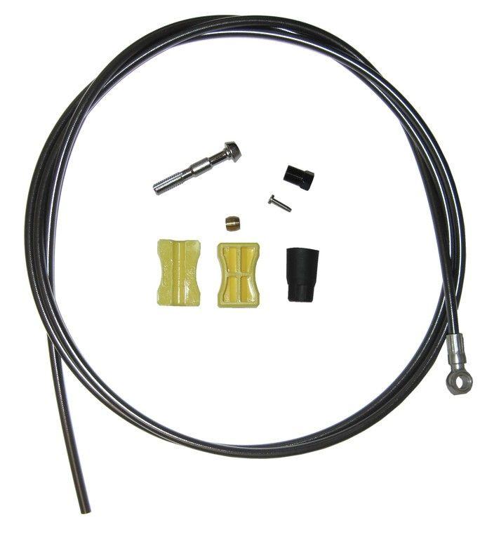 Durite pour frein à disque Shimano SM-BH90 1700 mm Noir