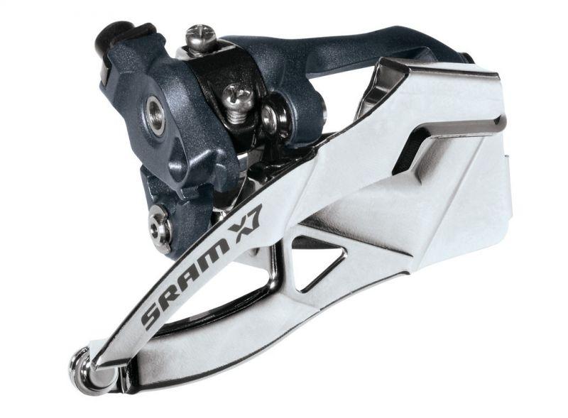 Dérailleur avant SRAM X7 2V collier bas 31,8/34,9 Dual Pull