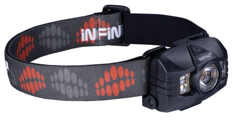 Lampe frontale Infini Hawk 100 Noir