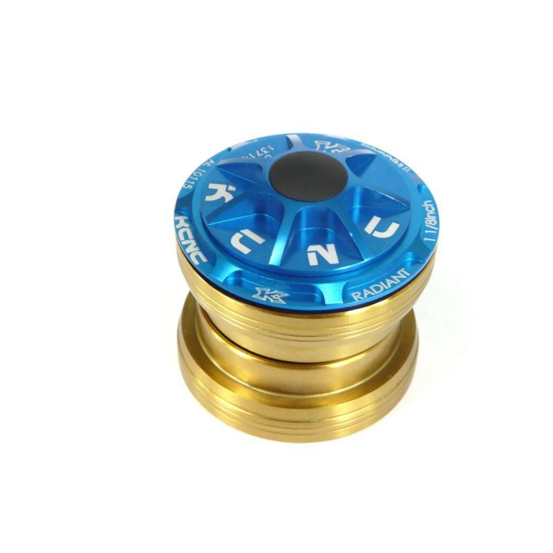 Jeu de direction externe headset KCNC Radiant R3 bleu