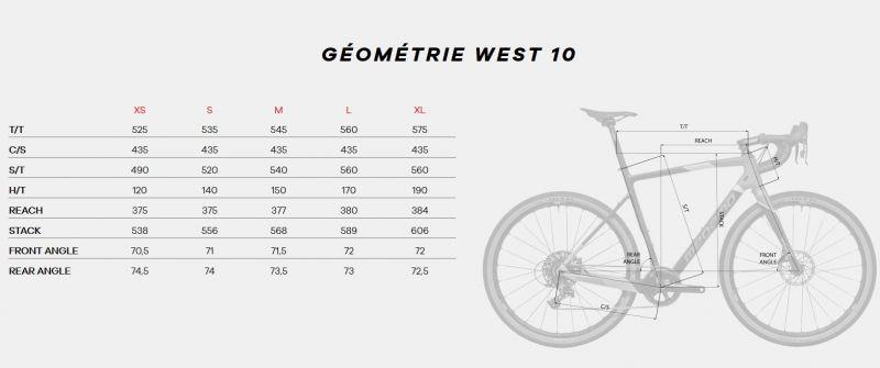 Vélo de Gravel Megamo West 10 Vert 2020 - 1