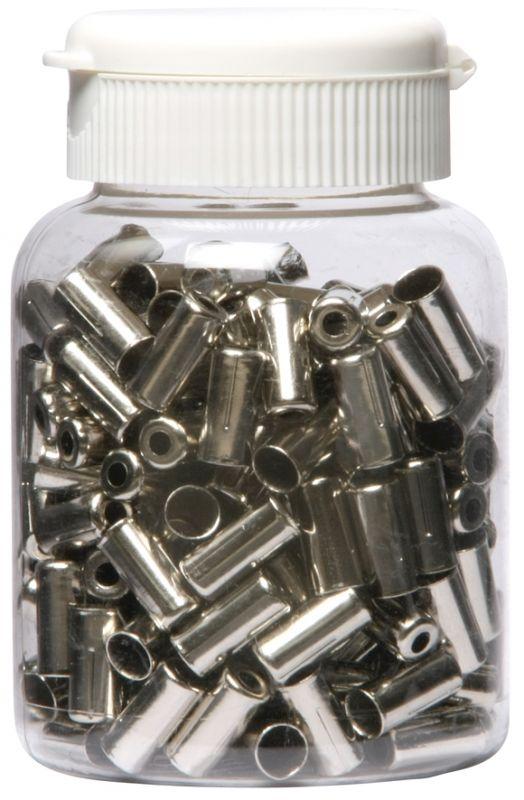 Boîte de 200 embouts de gaine Massi 5 mm Aluminium