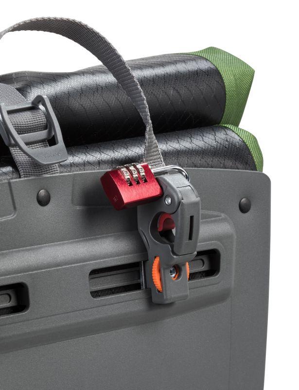 Sacoche porte-bagages Vaude Aqua Back Print Single 24 L Noir/Vert - 4