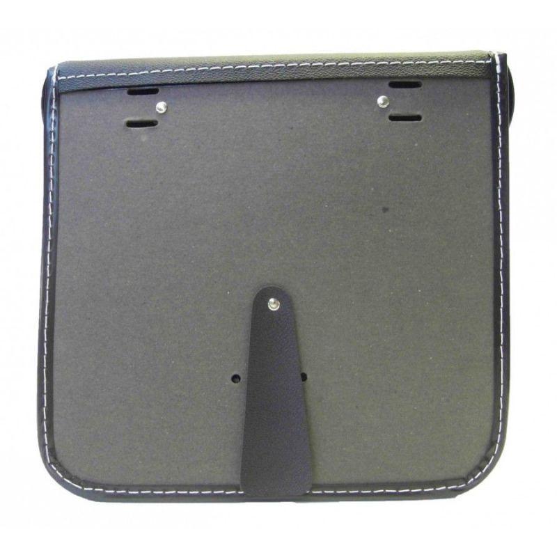 Sacoche traditionnelle Sporfabric S14 fix. courroies (Paire) Noir - 1