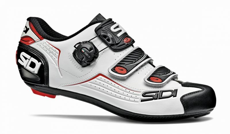 Chaussures Sidi Alba Blanc/Noir/Rouge