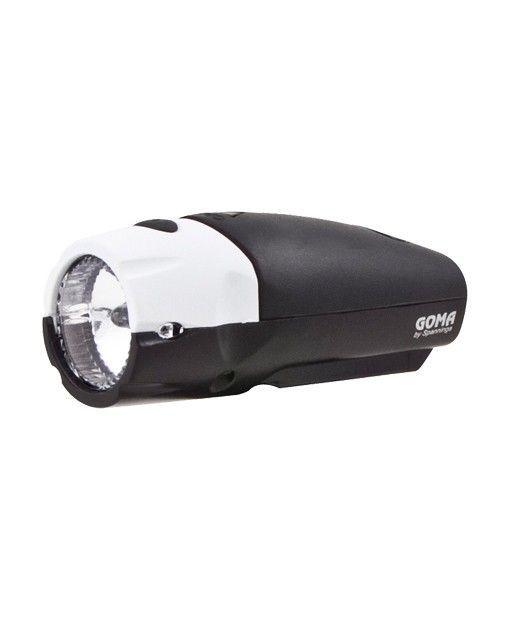 Éclairage AV Spanninga Goma 4 LEDs 20 Lumen À piles Noir/Blanc