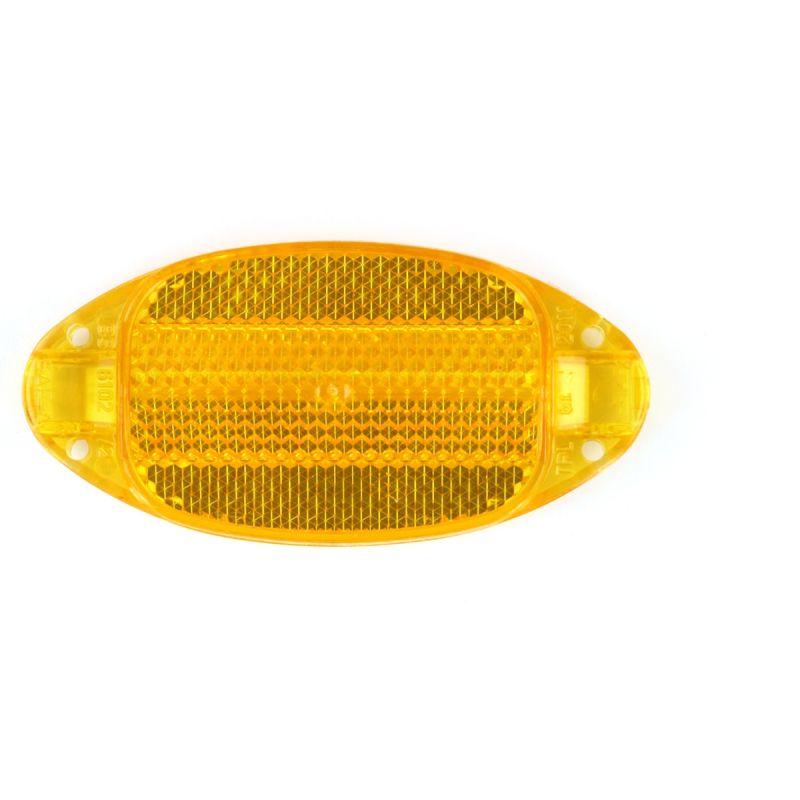 Catadioptre de roue Spanninga (homologué) Orange