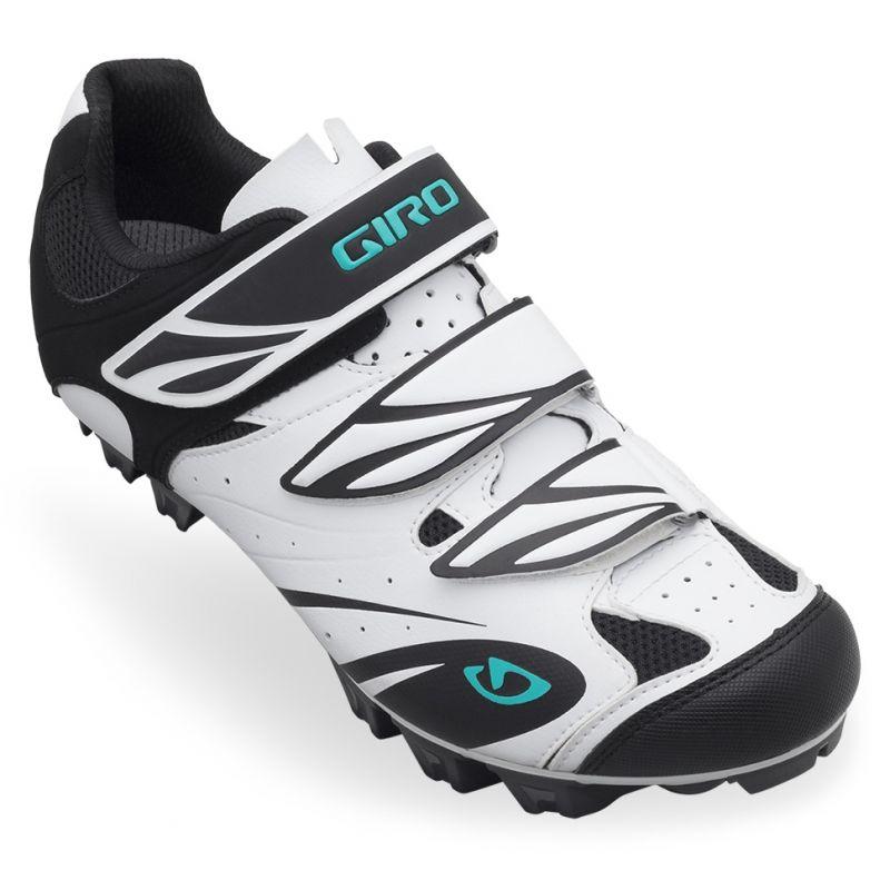 Chaussures femme Giro Riela Blanc/Noir/Vert