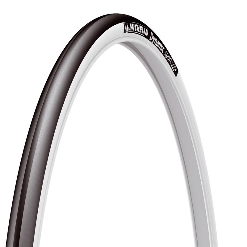 pneu michelin dynamic sport 700 x 28c tr noir blanc sur ultime bike. Black Bedroom Furniture Sets. Home Design Ideas
