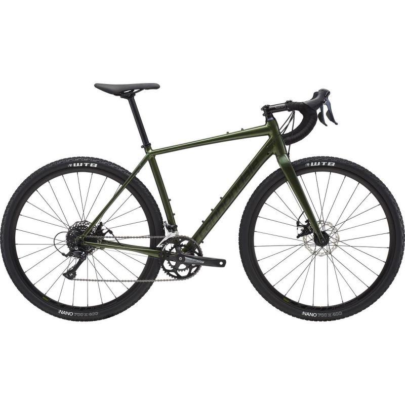 Vélo gravel Cannondale Topstone Disc SE Sora Vert Vulcan