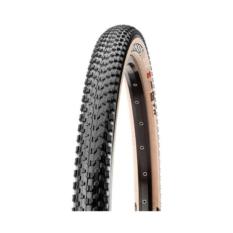 pneu maxxis ikon 27 5 x tlr skinwall noir beige sur ultime bike. Black Bedroom Furniture Sets. Home Design Ideas