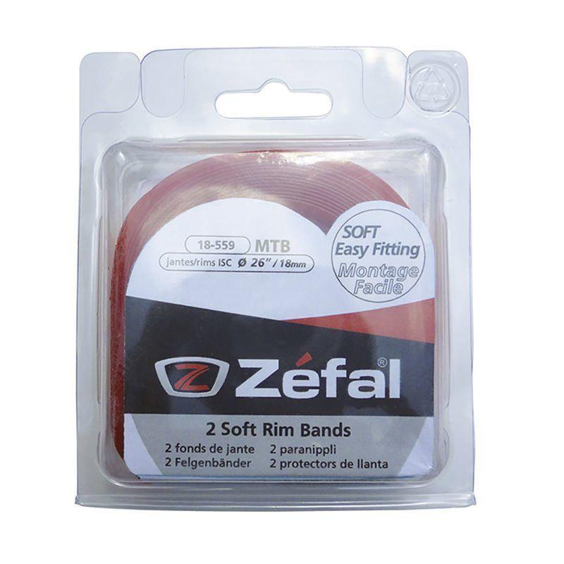 """Fond de jante Zéfal PVC 26"""" 22 mm (Paire)"""