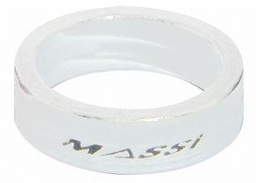 """Entretoises de direction Massi 1.1/8"""" 10 mm Blanc (x2)"""