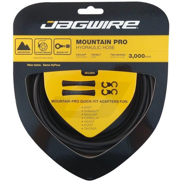 Kit durite hydraulique Jagwire Mountain Pro - Black Carbon